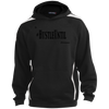 Hustle Until - Sport-Tek Youth Sleeve Stripe Hooded Pullover