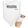 HUSTLE UNTIL - Doggie Bandana Blk