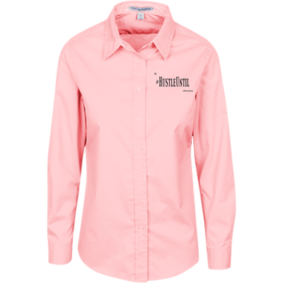 Hustle Until - Port Authority Ladies' LS Blouse