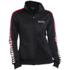 Hustle Until - Sport-Tek Ladies' Dot Print Warm Up Jacket