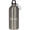 Hustle Until - Stainless Steel Silver Water Bottle-Drinkware-And 1 For All
