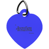 HUSTLE UNTIL - Heart Pet Tag