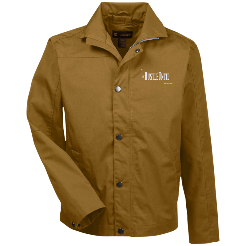 Hustle Until - Harriton Canvas Work Jacket