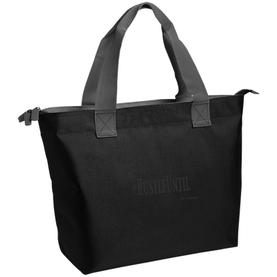 Hustle Until - Port Authority Zippered Tote