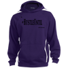Hustle Until - Sport-Tek Tall Sleeve Stripe Sweatshirt w/Jersey Lined Hood