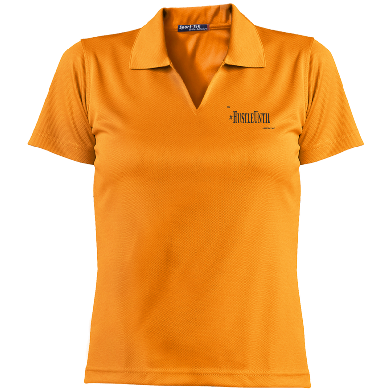 Hustle Until - Sport-Tek Ladies' Dri-Mesh Short Sleeve Polo