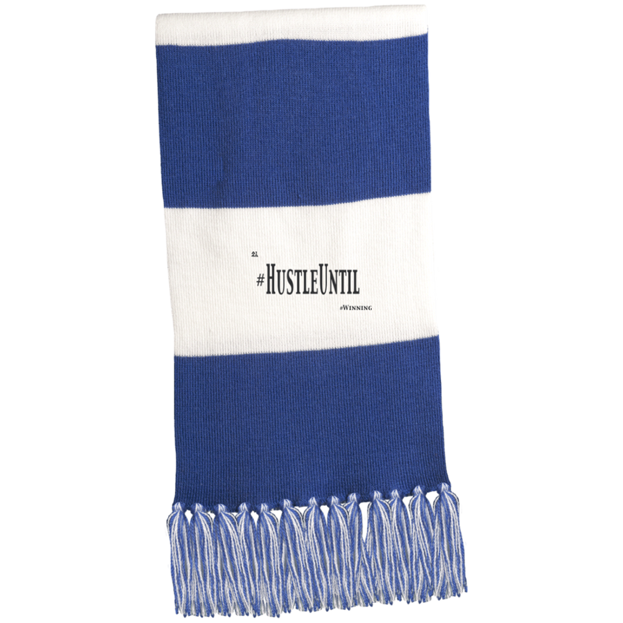 Hustle Until - Sport-Tek Fringed Scarf