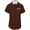 Hustle Until - Port Authority Ladies' Short Sleeve Easy Care Shirt