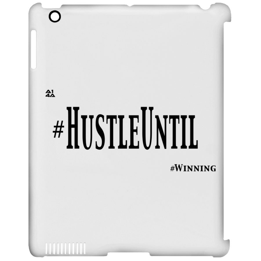 HUSTLE UNTIL - iPad Clip Case