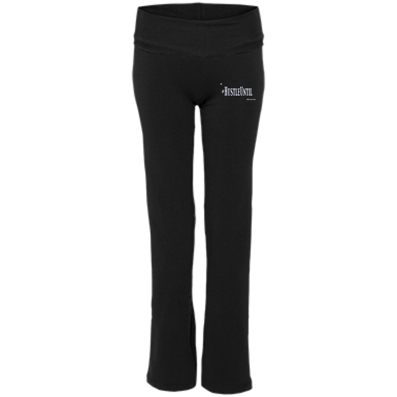 Hustle Until - Boxercraft Ladies' Yoga Pants