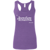 Hustle Until - Gildan Ladies' Softstyle Racerback Tank