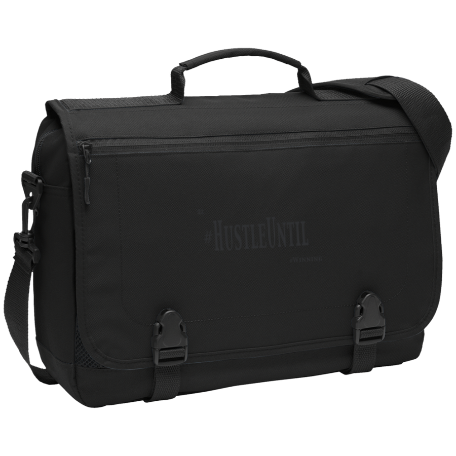 Hustle Until - Port Authority Messenger Briefcase