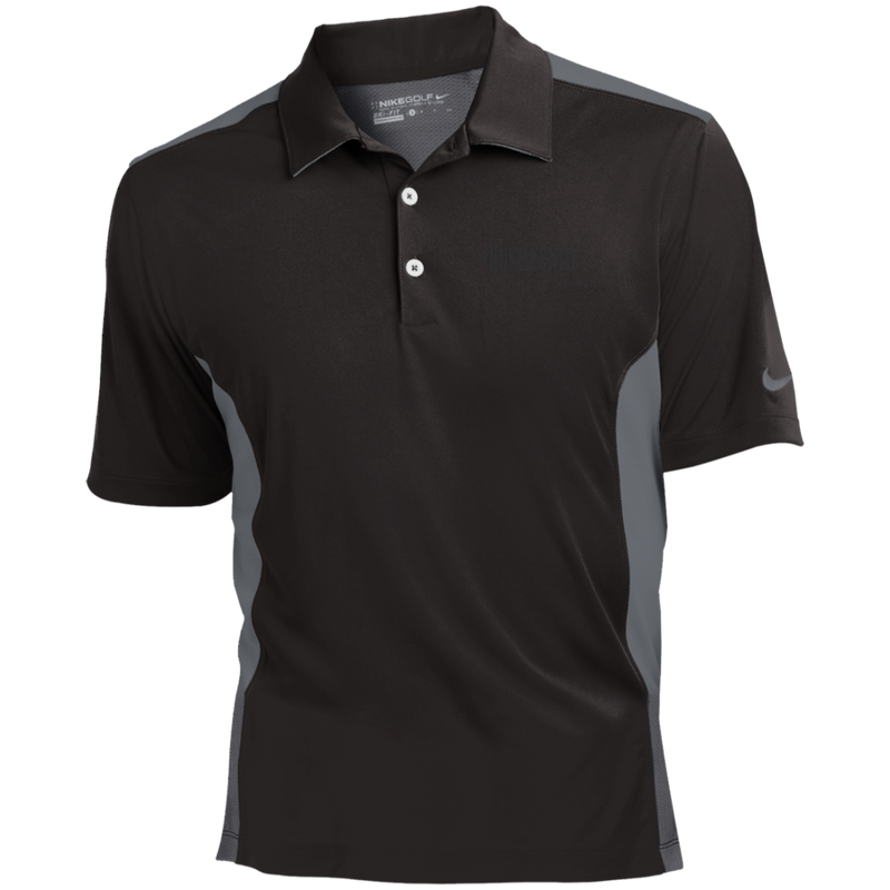 Hustle Until - Nike Golf Dri-Fit Colorblock Mesh Polo