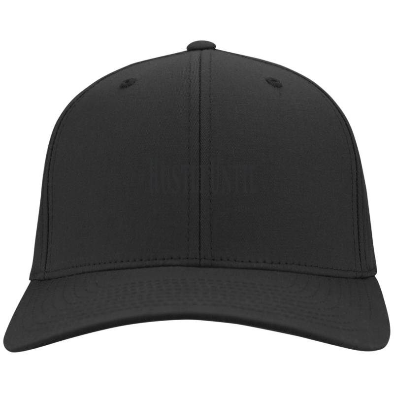 Hustle Until - Port Authority Flex Fit Twill Baseball Cap