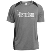 Hustle Until - Sport-Tek Heather Colorblock Poly T-Shirt