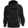 Hustle Until - Sport-Tek Sleeve Stripe Sweatshirt with Jersey Lined Hood