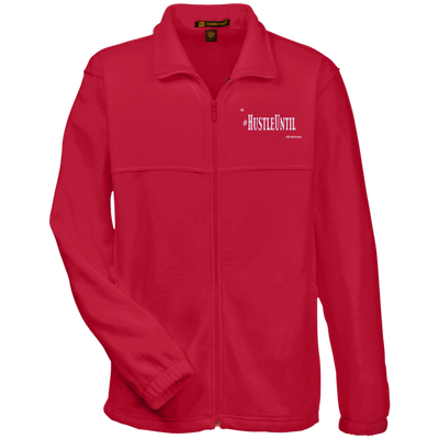 Hustle Until - Harriton Fleece Full-Zip