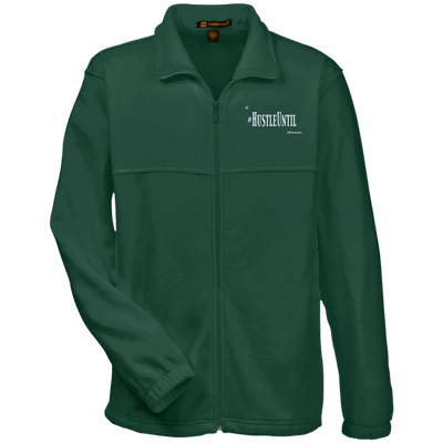 Hustle Until - Harriton Tall Men's Full Zip Fleece