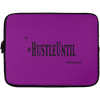 HUSTLE UNTIL - Laptop Sleeve - 13 inch