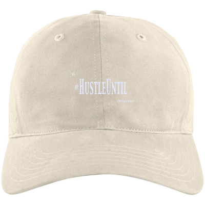 Hustle Until - Adidas Unstructured Cresting Cap