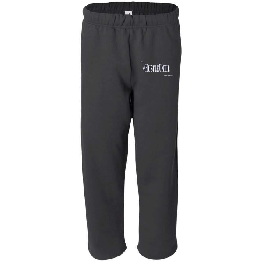 Hustle Until - Badger Open Bottom Sweatpant with Pockets