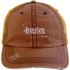 Hustle Until - Distressed Unstructured Trucker Cap