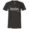 Hustle Until - Bella + Canvas Unisex Jersey SS V-Neck T-Shirt