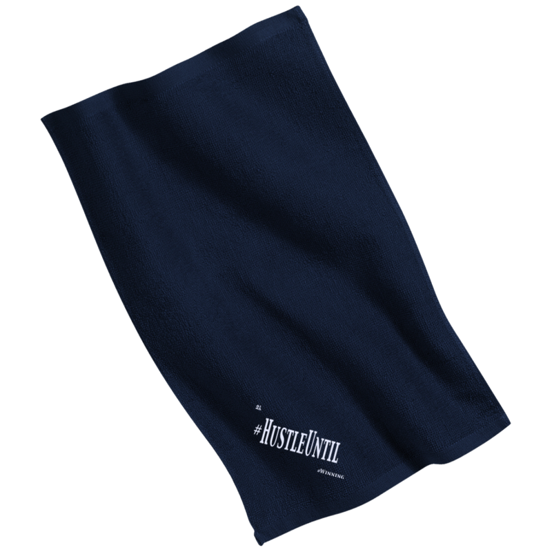 HUSTLE UNTIL - Port & Co. Rally Towel