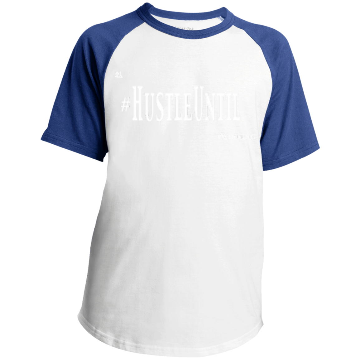 Hustle Until - Sport-Tek Youth SS Colorblock Raglan Jersey