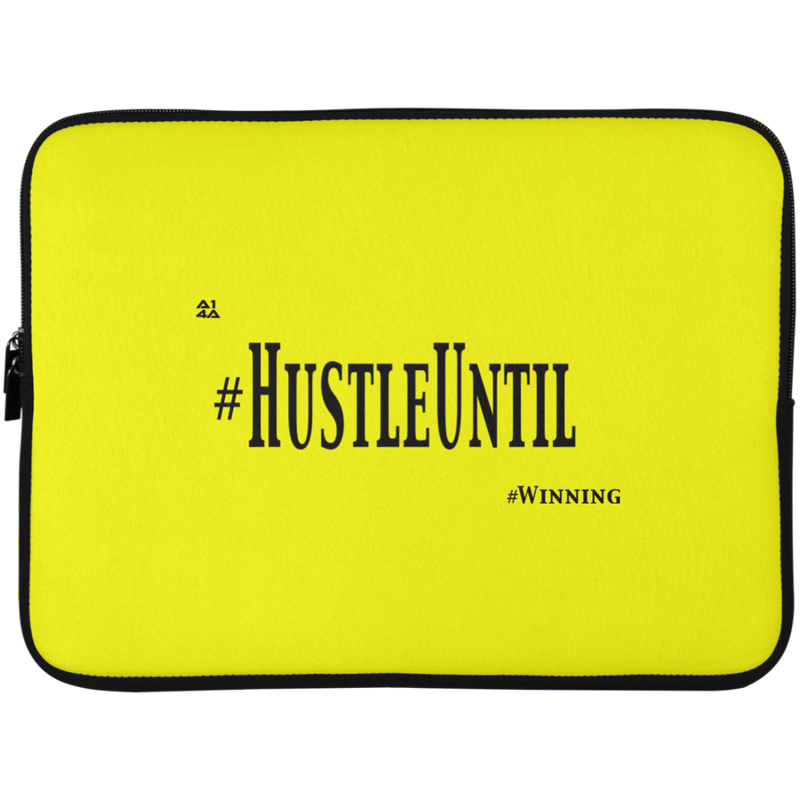 HUSTLE UNTIL - Laptop Sleeve - 15 Inch
