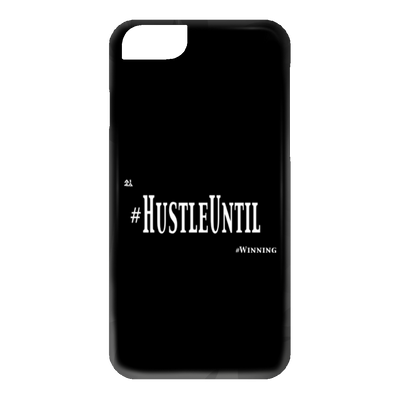 HUSTLE UNTIL - iPhone 6 Case Wht