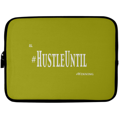 HUSTLE UNTIL - Laptop Sleeve - 10 inch