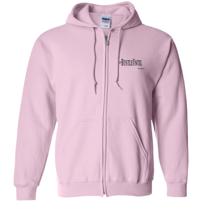 Hustle Until - Gildan Zip Up Hooded Sweatshirt