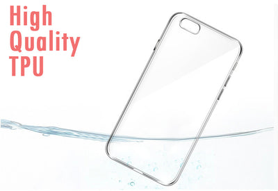 Apple Iphone Ultra Thin Transparent TPU Gel Silicon Case - 7/7Plus/6/6sPlus-Phone Bags & Cases-And 1 For All