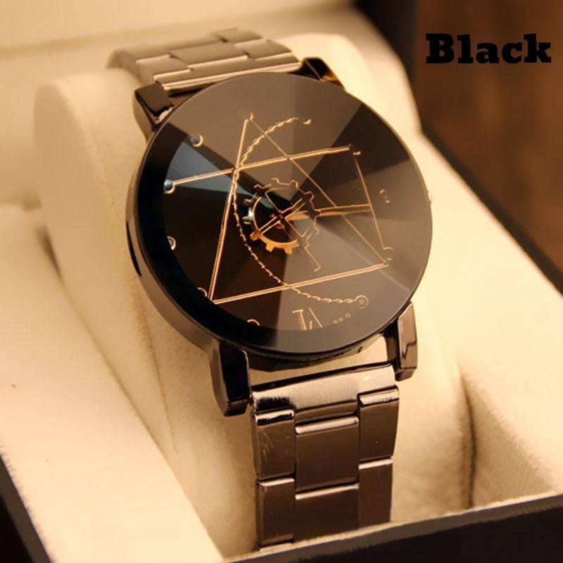 The DA VINCI - Luxury Geometric Men/Women's Fashion Watch, Crystal Faceplate