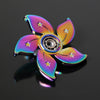 Rainbow Flower EDC Metal Tri-Fidget Spinner for Autism ADHD | Focus Stress Relief-Accessories-And 1 For All