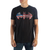 Batman Americana  Looking Logo On  T-Shirt