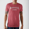 American Road Trip Ramada Inn Red Htr T-Shirt