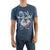 Ren & Stimpy Mens Navy  T-Shirt