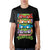 Teenage Mutant Ninja Turtles  4 Panel Mens Black T-Shirt
