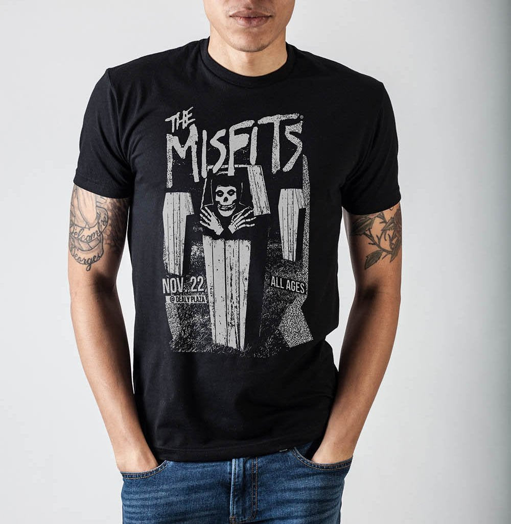 Misfits Coffins Dealy Plaza T-Shirt