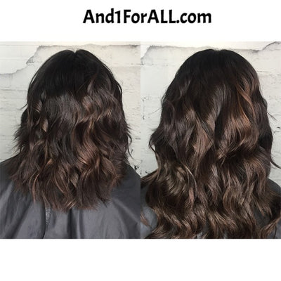 Viral Makeup and Hair Extensions Before and After 2