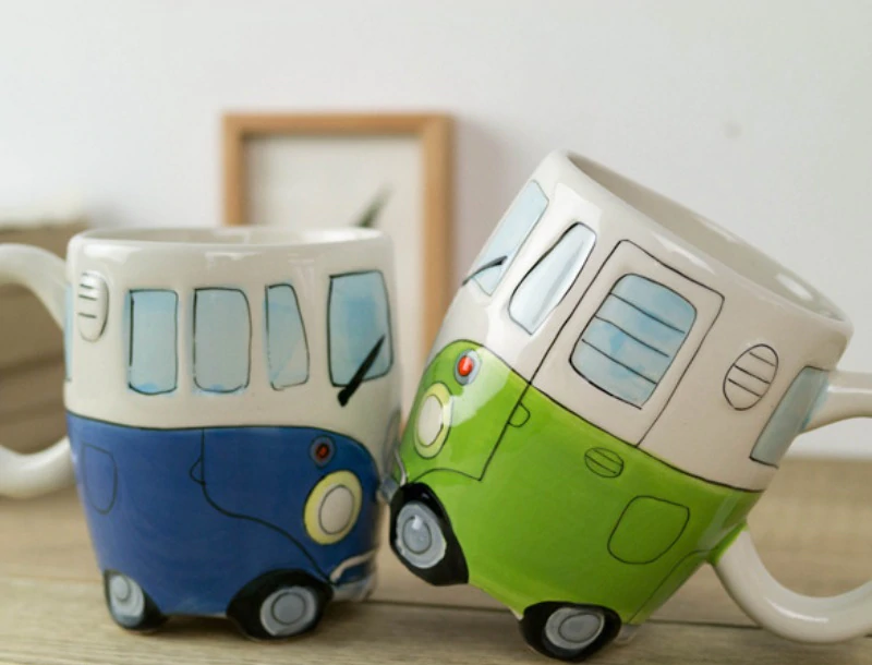Road Trip Retro Coffee Mug