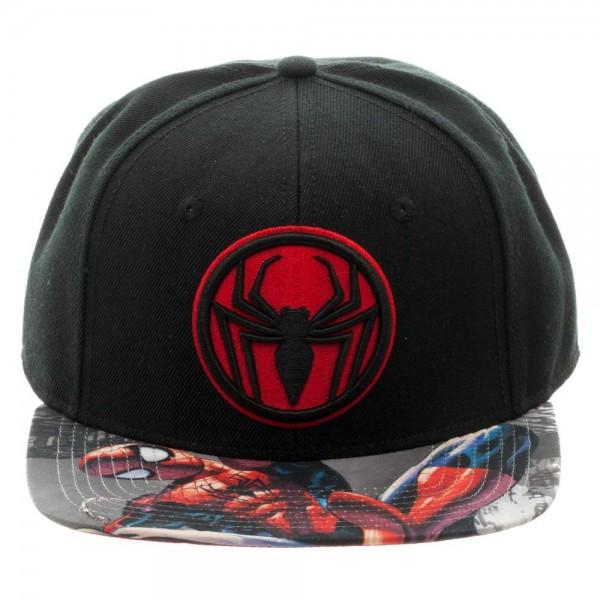 Spiderman Miles Sublimated Bill Snapback
