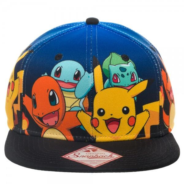 Pokemon Group Gradient Snapback