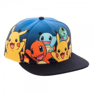 Pokemon Group Youth Snapback