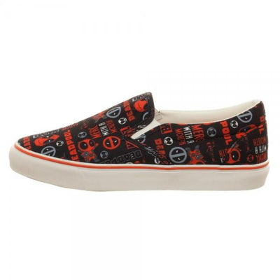 Marvel Deadpool Unisex Dek Shoes