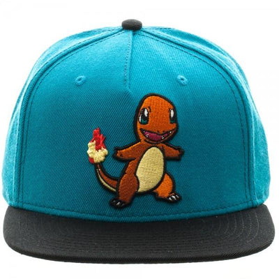 Pokemon Charmander Color Block Snapback