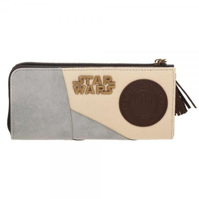 Star Wars Rey L-Zip Wallet with Badges and Charms