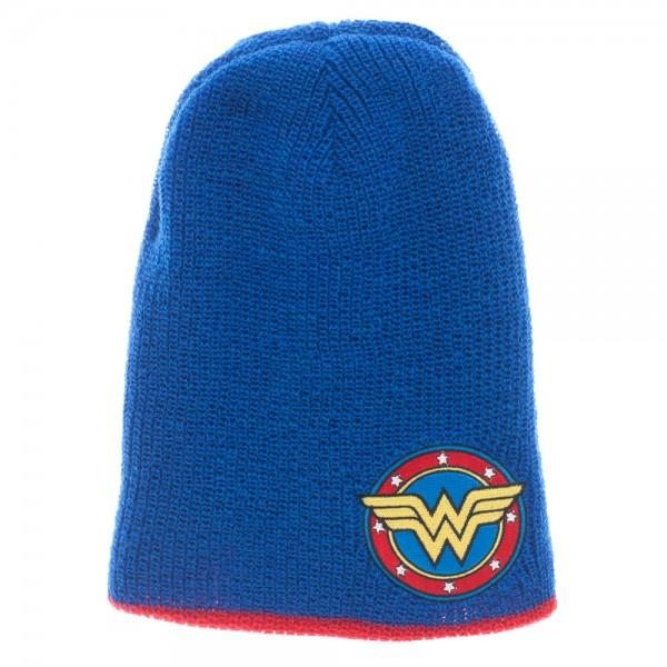 6b5eb2c0699 DC Comics Wonder Woman Reversible Slouch Beanie - And 1 For All